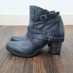 Miz Mooz Rosana Genuine Leather Buckle Boot